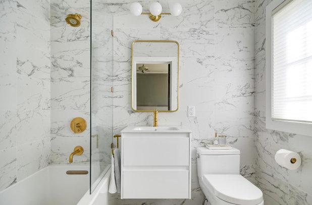 Contemporary Bathroom by Jaimie Nelson Design