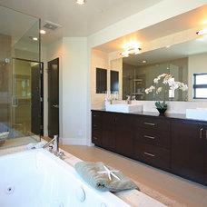 Contemporary Bathroom by LuAnn Development, Inc.