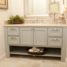 Contemporary Bathroom by B&S Woodworking Inc.