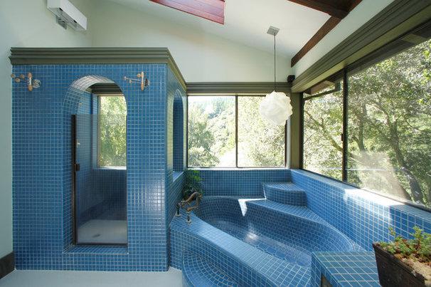 Eclectic Bathroom by EAG Studio