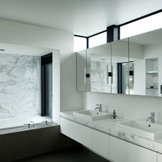 Contemporary Bathroom by Daniel Marshall Architect