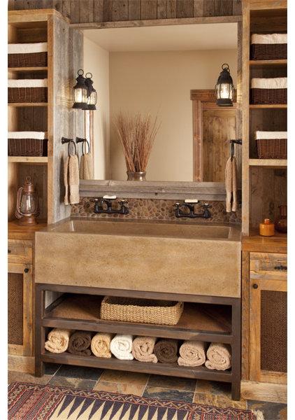 Traditional Bathroom by Van Bryan Studio Architects