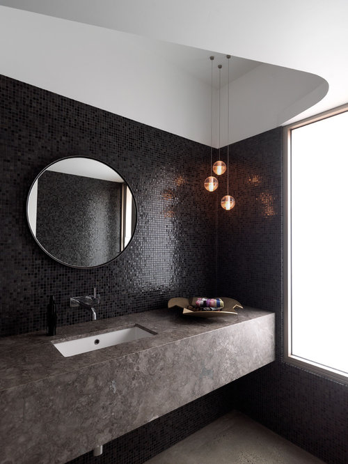 SaveEmail. Black Gloss Tiles Ideas  Pictures  Remodel and Decor
