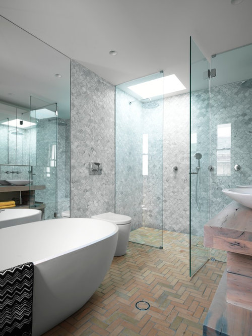 Modern Shower Ideas, Pictures, Remodel and Decor