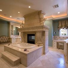 Traditional Bathroom by Richard Luke Architects P.C.