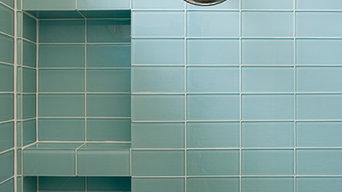 Lush 3x6 Glass Subway Tile Installations