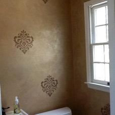 Mediterranean Bathroom by Audrey's Artistic Design