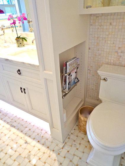 Contemporary Bathroom by House of Cline Design