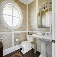 Beach Style Bathroom Lutzker Beach House 10.18.12