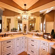 Traditional Bathroom by Kitt Haman Design