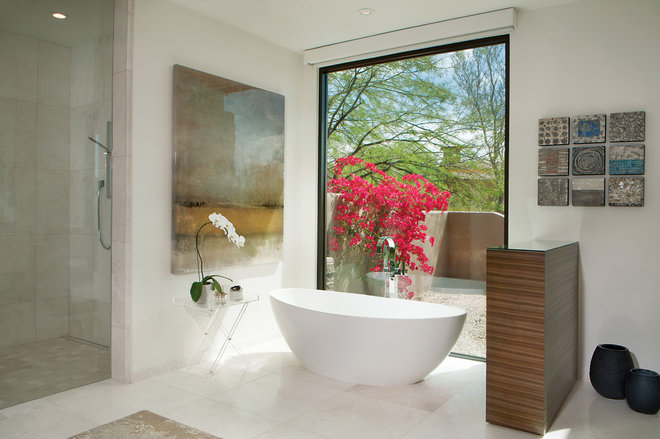 Contemporary Bathroom by Janet Brooks Design