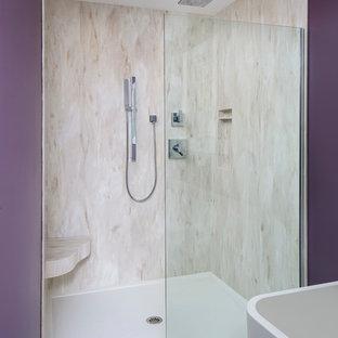 Luxurious Laundry Bathroom Combo