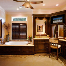 Traditional Bathroom by H. Stern Interiors