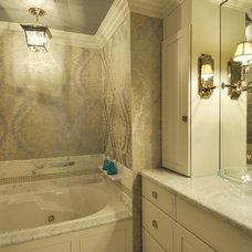 Eclectic Bathroom by Kenneth/Davis, Inc.