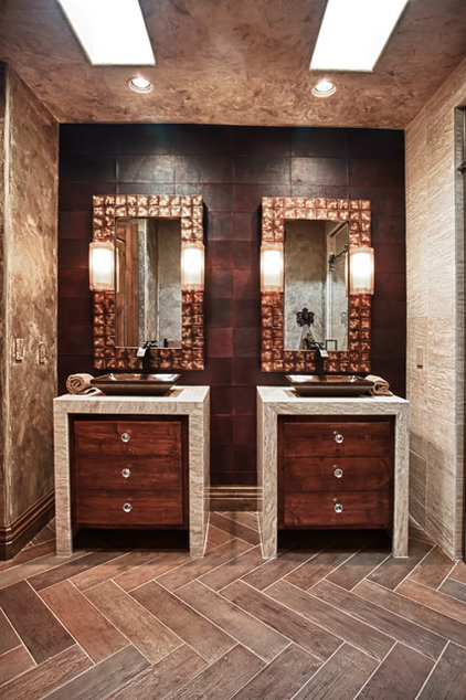 Contemporary Bathroom by DESIGN ONE INTERIORS