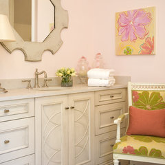 eclectic bathroom by Rachel Oliver Decorative Design
