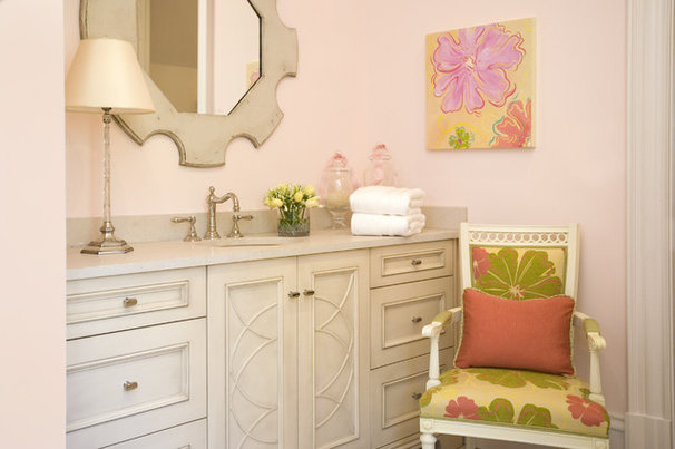 Eclectic Bathroom by Rachel Oliver Design, LLC