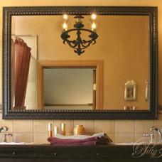 Rustic Bathroom by Red Fox Design