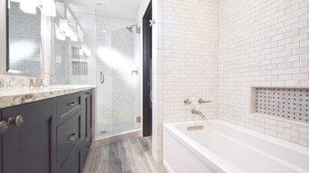 """Luxurious """"Tiny Bathroom"""" Remodel"""