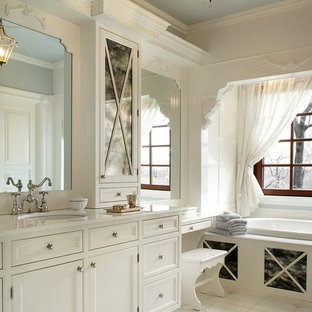 Luxurious White Bath with Royale Faucet