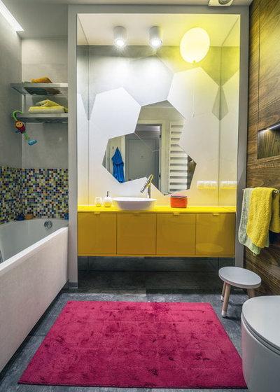 Eclectic Bathroom by Viva Design - Interior Design Studio