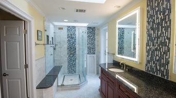 Luxury Basement Guest Bath - Baltimore, MD