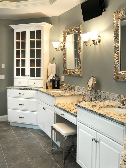 . Transitional Bathroom Design Ideas  Remodels   Photos