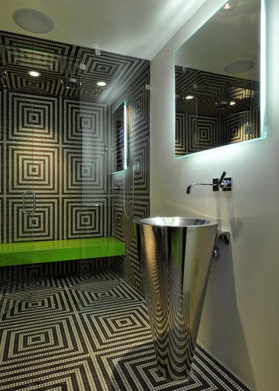 Contemporary Bathroom by Elevation Architectural Studios