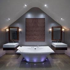 Contemporary Bathroom by Future Light Design