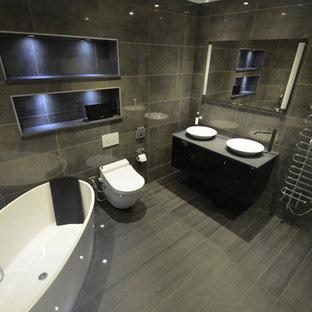Luxury bathroom in Chelsea London steam room