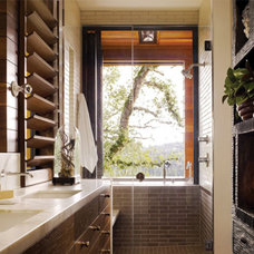 Eclectic Bathroom by California Home + Design