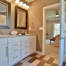 Transitional Bathroom by Jagoe Homes Inc