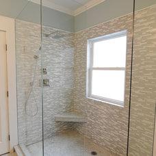 Beach Style Bathroom by Lustig Custom Cabinets