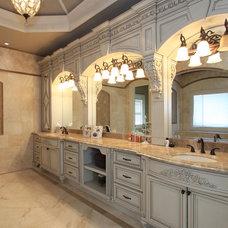 Traditional Bathroom by Alex Custom Homes, LLC