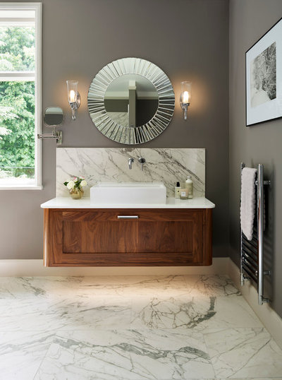Transitional Bathroom by Simon Taylor Furniture