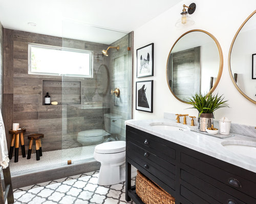 15,074 Farmhouse Bathroom Design Ideas & Remodel Pictures | Houzz