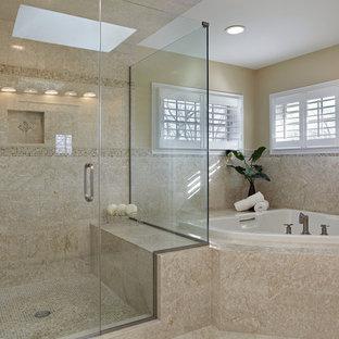 Moderne Badezimmer Mit Eckbadewanne Ideen Design Bilder Houzz