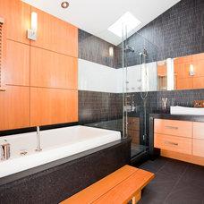 Contemporary Bathroom by Kerr Construction