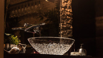 Luxury Italian Crystal Vessel Sink