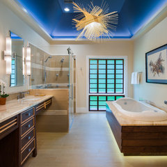 asian bathroom by Douglas R. Schotland Architect LLC
