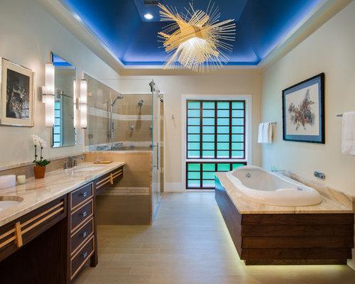 Vasca Da Bagno Incasso Ceramica : Grande stanza da bagno etnica foto idee arredamento