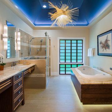 Luxury Japanese-Inspired ADA (Accessible) Bath