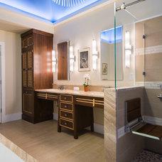 Asian Bathroom by Douglas R. Schotland Architect