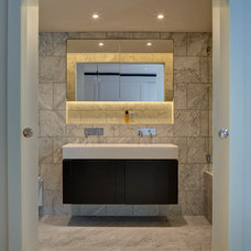 Traditional Bathroom by robert rhodes architecture + interiors