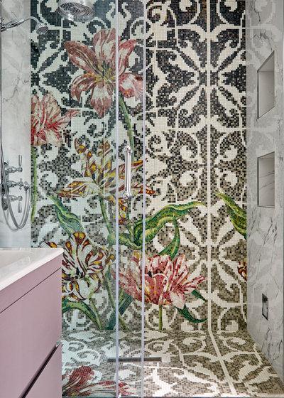 Contemporaneo Stanza da Bagno by Kia Designs