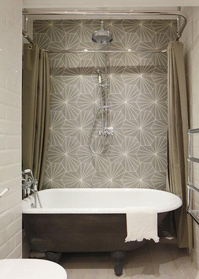 Bathroom Conundrum A Shower Curtain Or A Shower Door