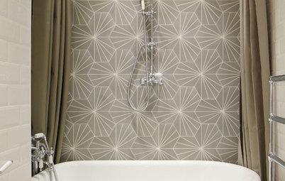 Duschdraperi eller badkarsskärm i badrummet?