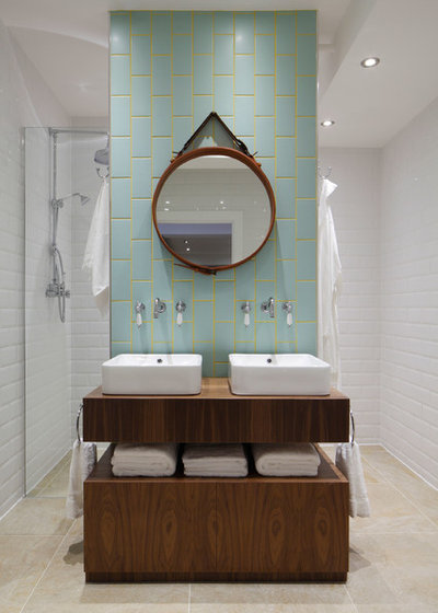 Bathroom Backsplashes Make A Style Statement