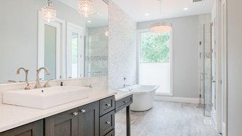 Luxury Master Bath in the Wood