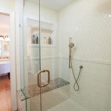 Transitional Bathroom by Joe Gelletich of Signature Kitchens and Baths